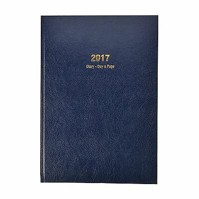 2017 desk diary A4/A5-  1 day to page, week to view, appointment diary