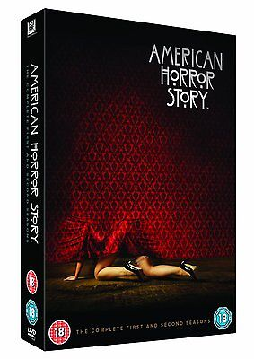 American Horror Story complete Series Season 1 & 2 DVD box set New & Sealed