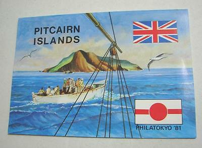 1981 Pitcairn Islands Philatelic Tokyo Japanese stamp pack