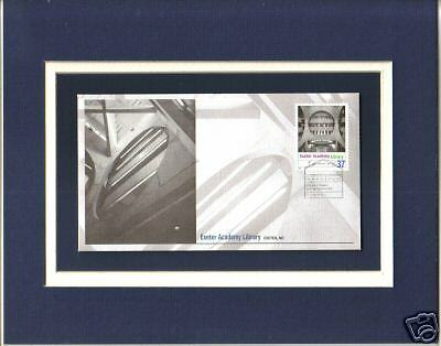 Phillips Exeter Academy Library Louis I Kahn 1st Day Cover Phillips Exeter Stamp