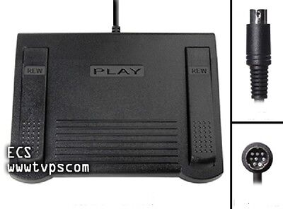 SONY IN-25 FS-25 FS-80 Foot Pedal for use with SONY M-2000 M-2020 NIB