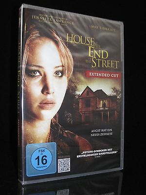 Dvd House At The End Of The Street - Extended Cut - Jennifer Lawrence ** Neu **
