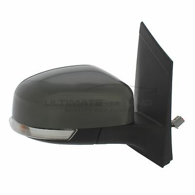 Ford Focus Mk2 2008-2011 Door Wing Mirror Electric Primed O/S Driver Right