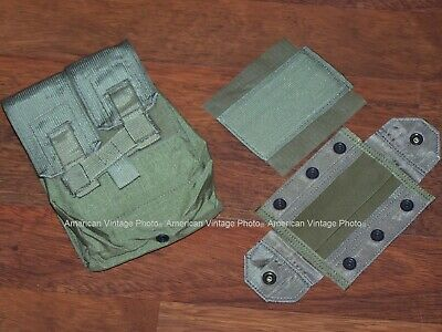 Canteen Pouch NEW Military USMC Coyote also f Phone Rations GPS MRE Clips w P38