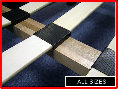 Brand New Replacement Bed Slats - Replacement Wooden Sprung Slats - In All Sizes