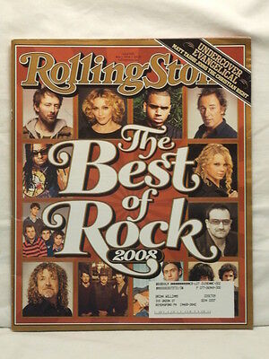 ROLLING STONE MAGAZINE #1051 BEST OF ROCK ROBERT PLANT COLDPLAY BONO MAY 1 2008!