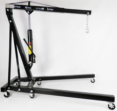 Dirty Pro Tools™ Mechanics 2 Ton Professional Folding Engine Crane Hoist Lift
