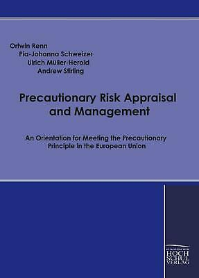 NEW Precautionary Risk Appraisal and Management by Paperback Book (English) Free