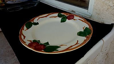 "Franciscan Apple Pattern  10 5/8"" Dinner Plate - 61-75 Backstamp"