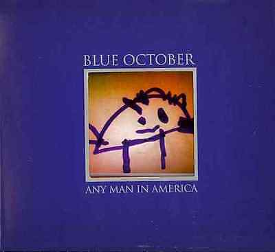 ANY MAN IN AMERICA BY BLUE OCTOBER (CD)
