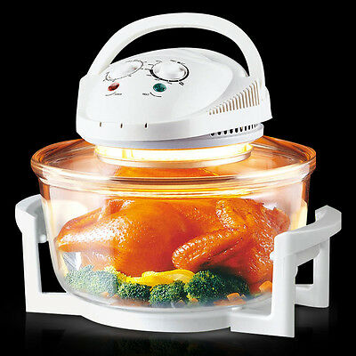 UK 12L 1300W Halogen Convection Oven Cooker Multicooker Multi-function Cooker
