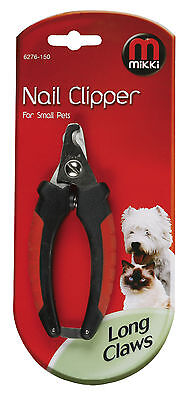 MIKKI  NAIL CLIPPERS for trimming DOGS & other pet's claws HIGH QUALITY