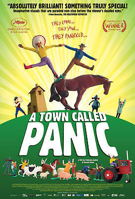 A Town Called Panic movie poster lobby promo 4 x 6 card