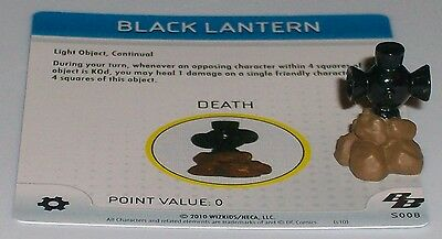 BLACK LANTERN s008 Brave and the Bold DC HeroClix special object OP LE