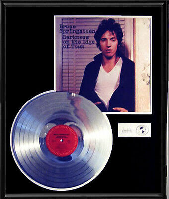 Bruce Springsteen  Darkness On The Edge  Rare Lp Gold Record Platinum  Disc