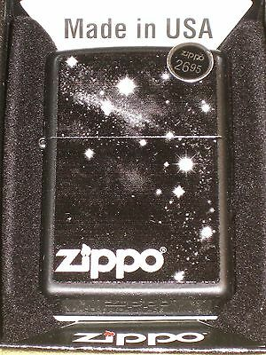Zippo Twilight Zone lighter stars on Black outer space star