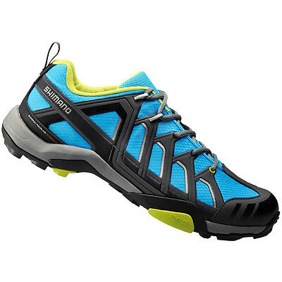 Shimano MT34 - Mountain Bike / Leisure Cycling SPD Shoes - Blue