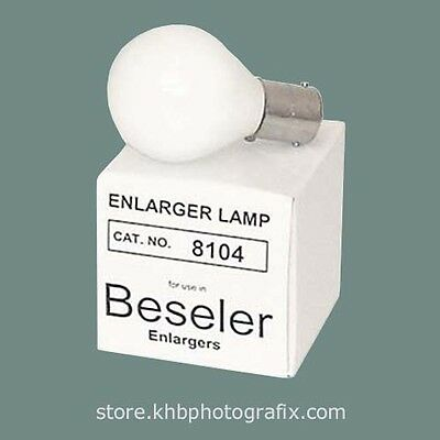 Beseler # 8104 PH111A PH/111A 75W 120V Condenser Enlarger Lamp