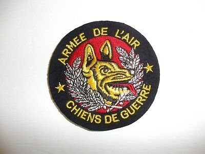 b3727 French Air Force Armee De L'Air Chiens De Guerre Dog of War 1980-90s IR3B