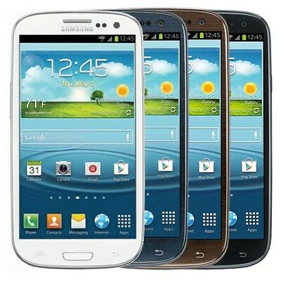Samsung i535 Galaxy S3 Verizon Wireless Android WiFi 16GB 8MP Camera Cell Phone