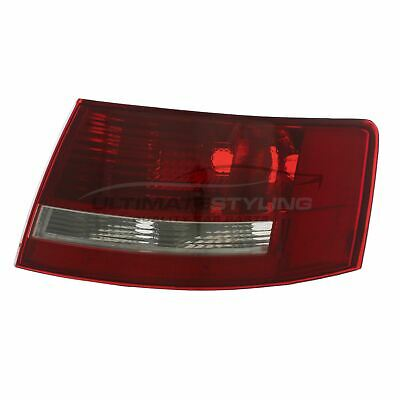 Audi A6 2004-2008 Saloon Clear Rear Tail Light Lamp O/S Drivers Side Right