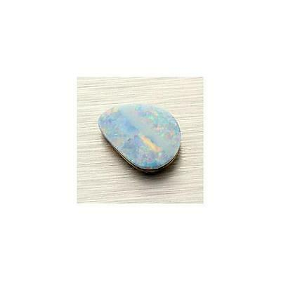 Australian Opal Doublet 17.1x12.6mm Freeform 4.89ct