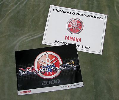 2000 Yamaha Clothing & Accessories Brochure