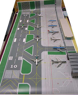 1/400 Accessories Large Airport basic set Ground Foil B
