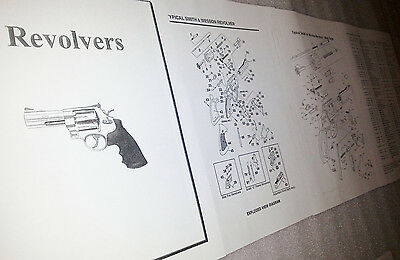 Smith & Wesson Model 617 .22 Pistol Parts Diagram w/ Part Numbers & Price List