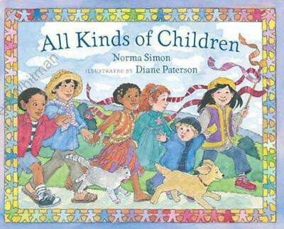 All Kinds of Children by Norma Simon Hardcover Book (English)