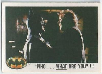 "Batman - Card 018 - ""who...what Are You?!!"""