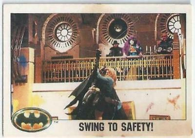 Batman - Card 075 - Swing To Safety!