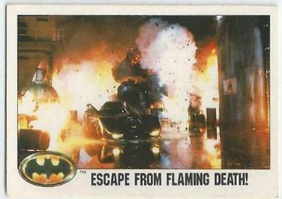Batman - Card 100 - Escape From Flaming Death!