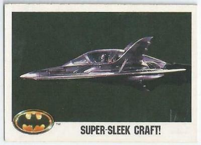 Batman - Card 108 - Super-Sleek Craft!