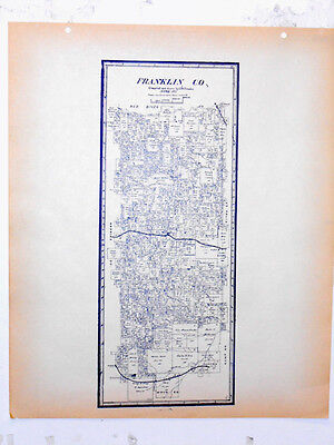 Franklin County Texas General Land Office Owner Map Mt Vernon Purley Hagansport