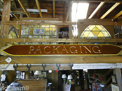 2    Hand  Carved  Signs -  Packaging