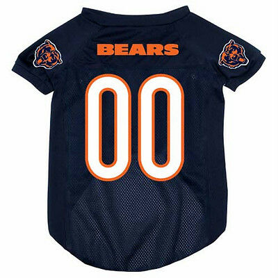 NEW CHICAGO BEARS PET DOG MESH FOOTBALL JERSEY ALL SIZES LICENSED