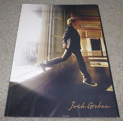 Josh Groban Awake World Tour Book Concert Program 2007 Full Color Pictures