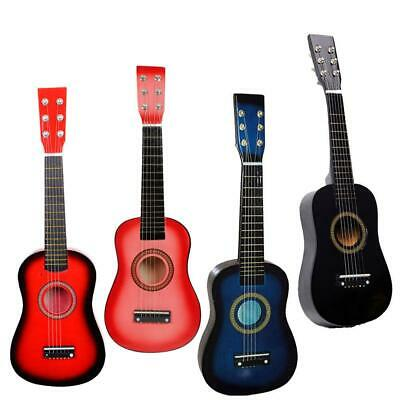 """New 23"""" 4 Colors Childrens Acoustic Mini Guitar with Free Accessories"""