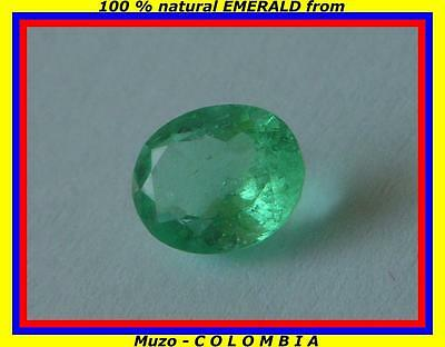 1,066cts NATURAL EMERALD, SMERALDO NATURALE COLOMBIA
