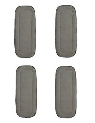 "4 Pack Bamboo Charcoal Inserts 5 Layers Large 14"" X 5' Fits Kawaii Baby New"