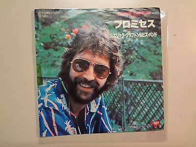 "ERIC CLAPTON & HIS BAND:Promises-Watch Out For Lucy-Japan 7"" 78 RSO DWQ6064 PSL"