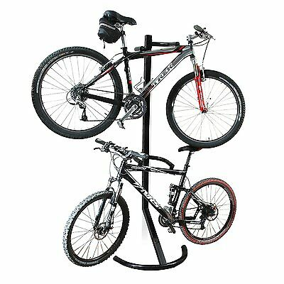 RAD Cycle 1107 Gravity Bike Stand Holds Two Bicycle Rack Storage Or Display New