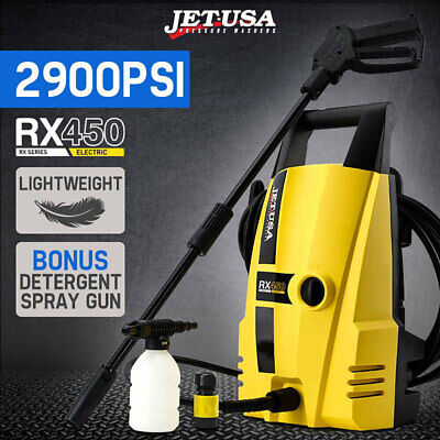 Jet-USA 2900 PSI High Pressure Washer Electric Water Cleaner Gurney Pump Hose