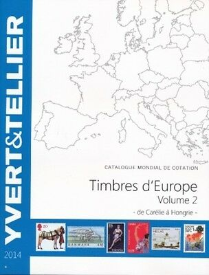 Catalogue des Timbres d'Europe Volume 2 Yvert et Tellier Ed. 2014