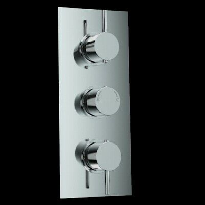 3 Way Concealed TMV2 Thermostatic Mixer Valve for Bath or Shower
