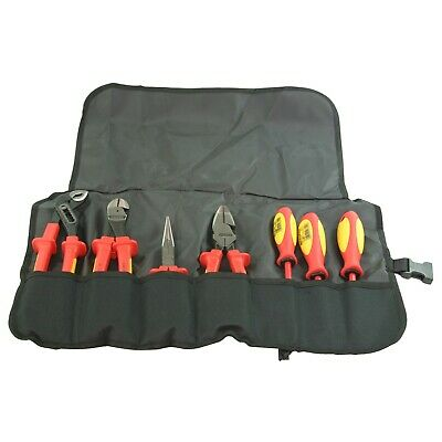 Knipex 989826US 7-Piece Insulated High Leverage Commercial Tool Set