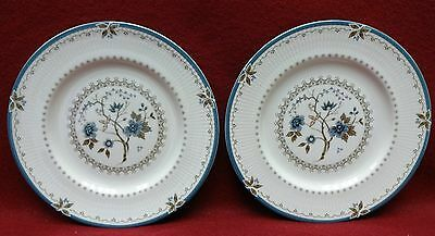ROYAL DOULTON china OLD COLONY TC1005 pattern Set of Two BREAD & BUTTER plates