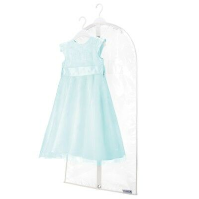 "Childrens Clear Clothes Cover Garment Kid Dress Wear Storage Bag 38"" Hangerworld"