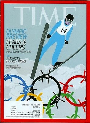 2014 Time Magazine: Sochi Olympic Preview